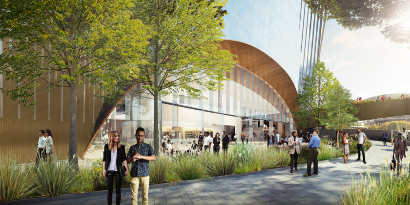 10 World Trade Public Space Rendering