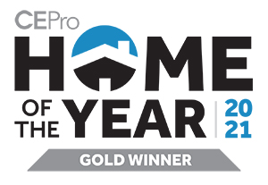 CEPro Home of the Year Gold Winner