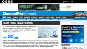 """Smart Things. Smart Partners."" – Channel Pro Network"