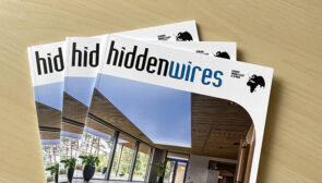 We're in Hidden Wires Magazine!