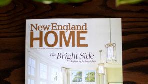 We're featured in 'Design Trends' in NE Home Magazine!