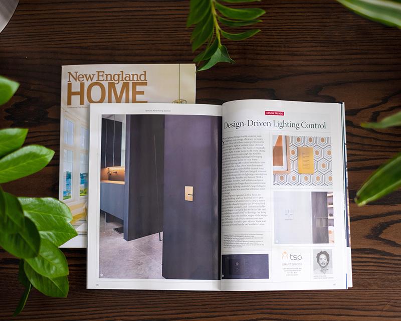 Design Trends spread in NE Home Mag