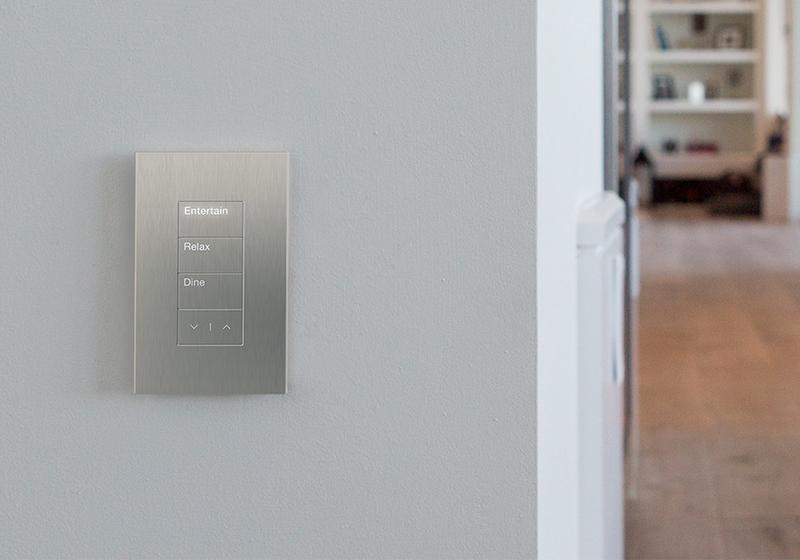 Lutron Palladiom lighting control Keypad