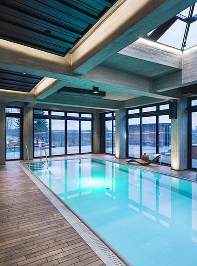 Poolhouse Retreat