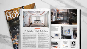 We're featured in 'Projects We Love' in NE Home Magazine
