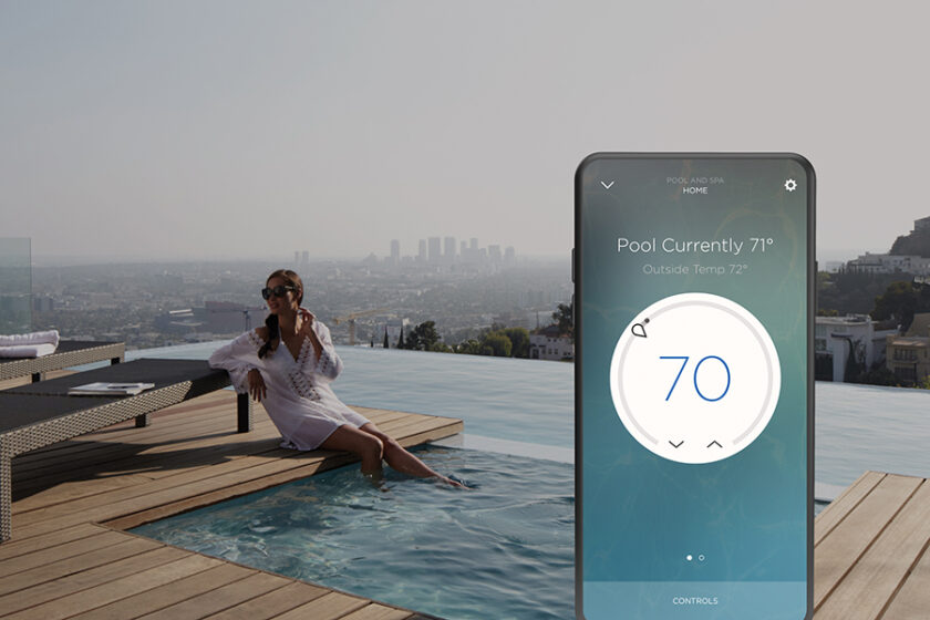 Savant Smart Home Climate Control with Pool